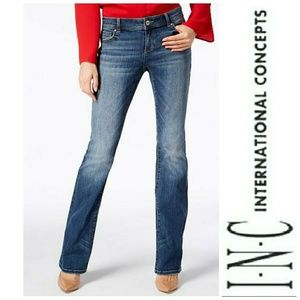 INC Curvy Boot fit jeans